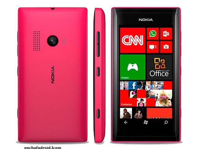 Nokia Lumia 505 vistas